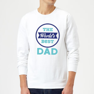 The World's Best Dad Sweatshirt - White