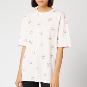 McQ Alexander McQueen Women's Boyfriend T-Shirt - Soft Pink