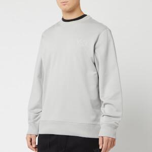Y-3 Men's Logo Crew Neck Sweatshirt - Archive Grey