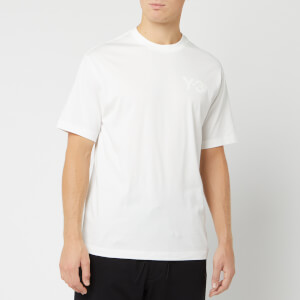 Y-3 Men's Logo Short Sleeve T-Shirt - Core White