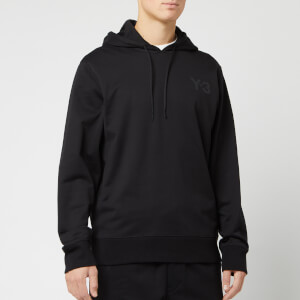 Y-3 Men's Logo Hoody - Black