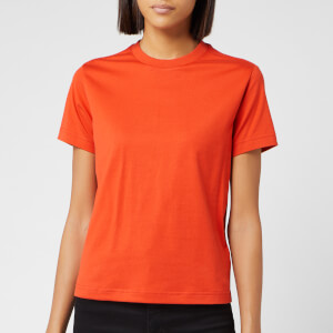 Y-3 Women's Stacked Logo Short Sleeve T-Shirt - Icon Orange