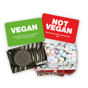 Vegan Not Vegan Card Game from I Want One Of Those