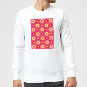 FLORAL PATTERN Sweatshirt - White