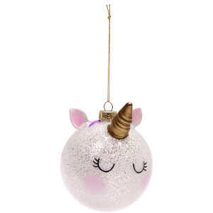 Sunnylife Unicorn Christmas Bauble