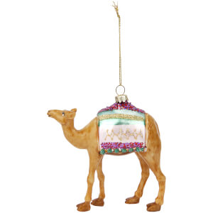 Sunnylife Camel Christmas Decoration
