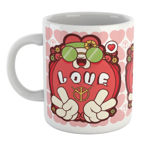 Hippie Love Cartoon Mug