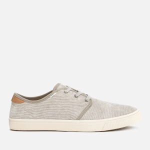 TOMS Men's Carlo Corduroy Pumps - Grey