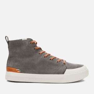 TOMS Men's Travl Lite Hi-Top Trainers - Dark Grey