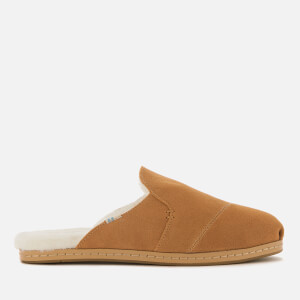 TOMS Women's Nova Leather Mule Slippers - Brown