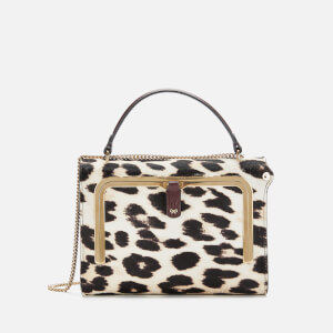Anya Hindmarch Women's Small Calf Hair Postbox Bag - Leopard
