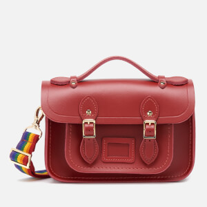 The Cambridge Satchel Company Women's Mini Satchel - Classic Red/Rainbow