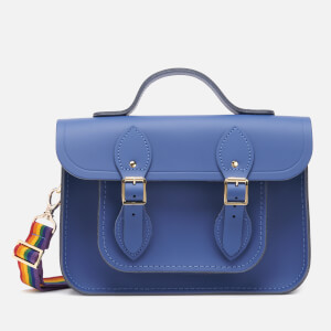 The Cambridge Satchel Company Women's 11'' Magnetic Batchel - Italian Blue/Rainbow