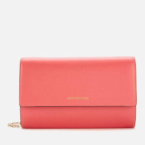 Emporio Armani Women's Large Zip Around Wallet - Strawberry/Black