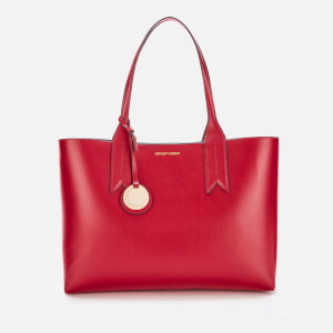 Emporio Armani Women's Shopper Bag - Ruby/Blue