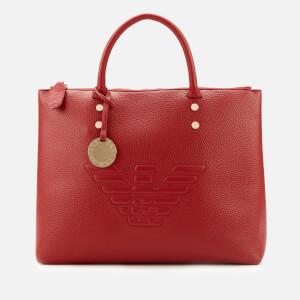 Emporio Armani Women's Eagle Cross Body Bag - Ruby