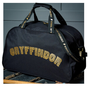 Hogwarts Quidditch Holdall Bag - Black