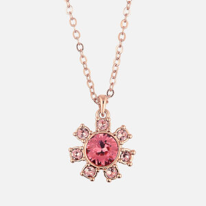 Ted Baker Women's Cessala Daisy Clockwork Pendant - Rose Gold