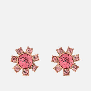 Ted Baker Women's Cesha Daisy Clockwork Stud Earrings - Rose Gold