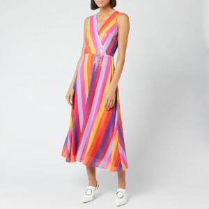 Olivia Rubin Women's Thea Dress - Rainbow Stripe