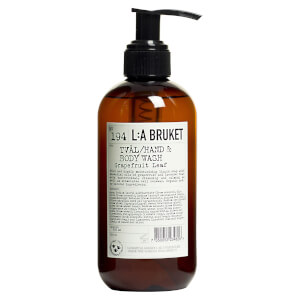 L:A BRUKET Small Grapefruit Leaf Hand and Body Wash 250ml