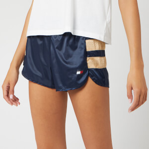 "Tommy Sport Women's Woven 3"" Shorts - Sport Navy"