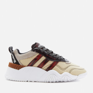 adidas Originals by Alexander Wang Turnout Trainers - Core Black/Light Brown/Bright Red