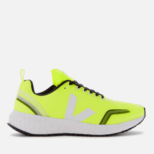 Veja Men's The Condor Running Shoes - Jaune Fluo/White
