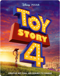 Toy Story 4 3D (incluye Blu-ray 2D) - Steelbook Edición Limitada Exclusivo Zavvi (Edición GB)