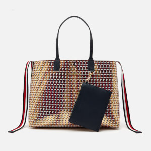 Tommy Hilfiger Women's Iconic Tommy Tote Bag - Metallic Monogram