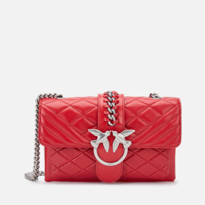 Pinko Women's Mini Love Soft Mix Bag - Tango Red