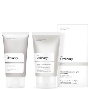 The Ordinary Vitamin C Suspension Cream and Squalane Cleanser 50ml