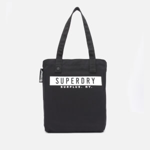 Superdry Women's Surplus Goods Explorer Tote Bag - Black