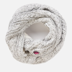 Superdry Women's Gracie Cable Snood - Ice Grey