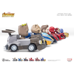 Beast Kingdom Marvel Avengers Pen with Pull Back Car Set - Zavvi European Exclusive
