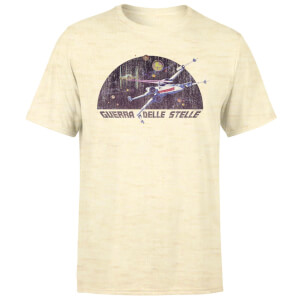 Star Wars X-Wing Italian Men's T-Shirt - White Stone Wash