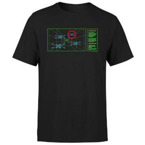 Star Wars X-Wing Target Men's T-Shirt - Black