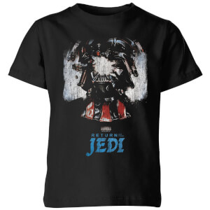 Star Wars Shattered Vader Kids' T-Shirt - Black