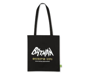 Bolso Batman Surf Logo Surf's Up - Negro