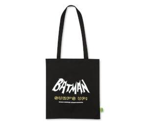 Batman Surf Surf's Up Logo Tote Bag - Black