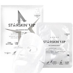 STARSKIN The Diamond Mask VIP Illuminating Luxury Bio-Cellulose Second Skin Face Mask 1.4 oz