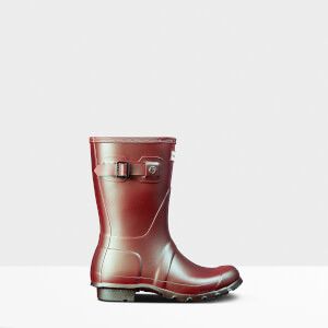 Hunter Women's Original Short Nebula Boots - Rhythmic Pink