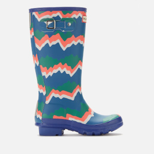 Hunter Kids' Original Storm Stripe Boots - Electric Storm
