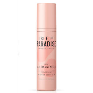 Isle of Paradise Self-Tanning Mousse - Light 200ml