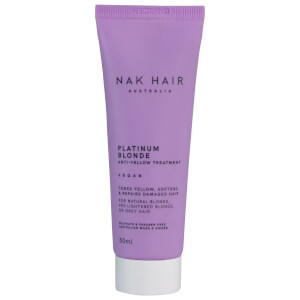 NAK Platinum Blonde Anti-Yellow Treatment 50ml