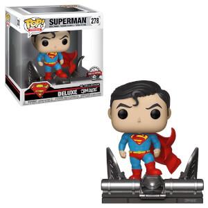 Figura Funko Pop! Movie Moment - Superman sobre la Gárgola EXC - DC Comics