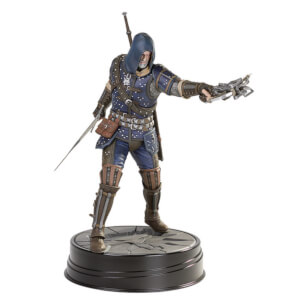 Figurine Geralt Armure de l'école du Chat de Grand Maître, The Witcher 3 : Wild Hunt – Dark Horse