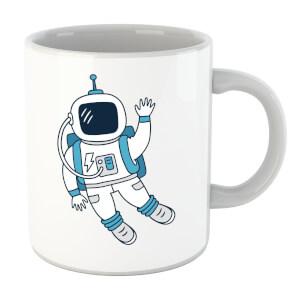 Astronaut Waving Mug