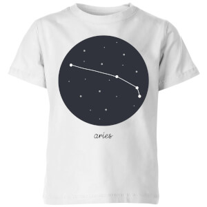 Aries Kids' T-Shirt - White