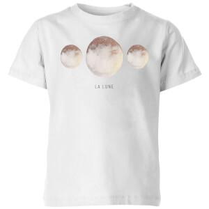 La Lune Kids' T-Shirt - White